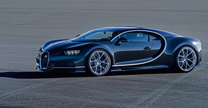incredible tech in the new bugatti chiron, the world's most