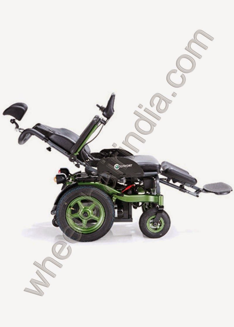 Powerchair Is More Compact And Has A Better Turning Radius
