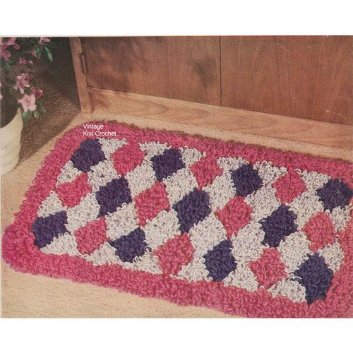 Throw Rugs for the Whole Home to Crochet – Crochet Patterns for Throw Rugs
