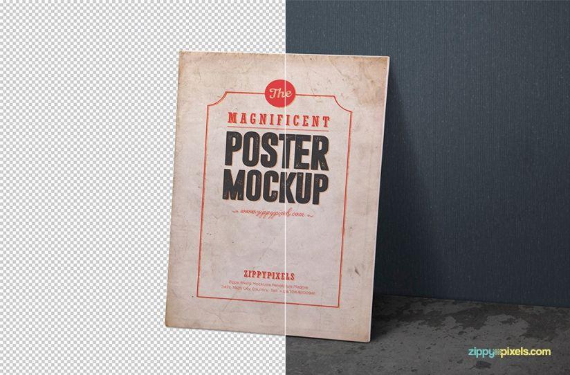 Free Poster Mockup Psds Zippypixels Poster Mockup Free Poster Mockup Psd Poster Mockup
