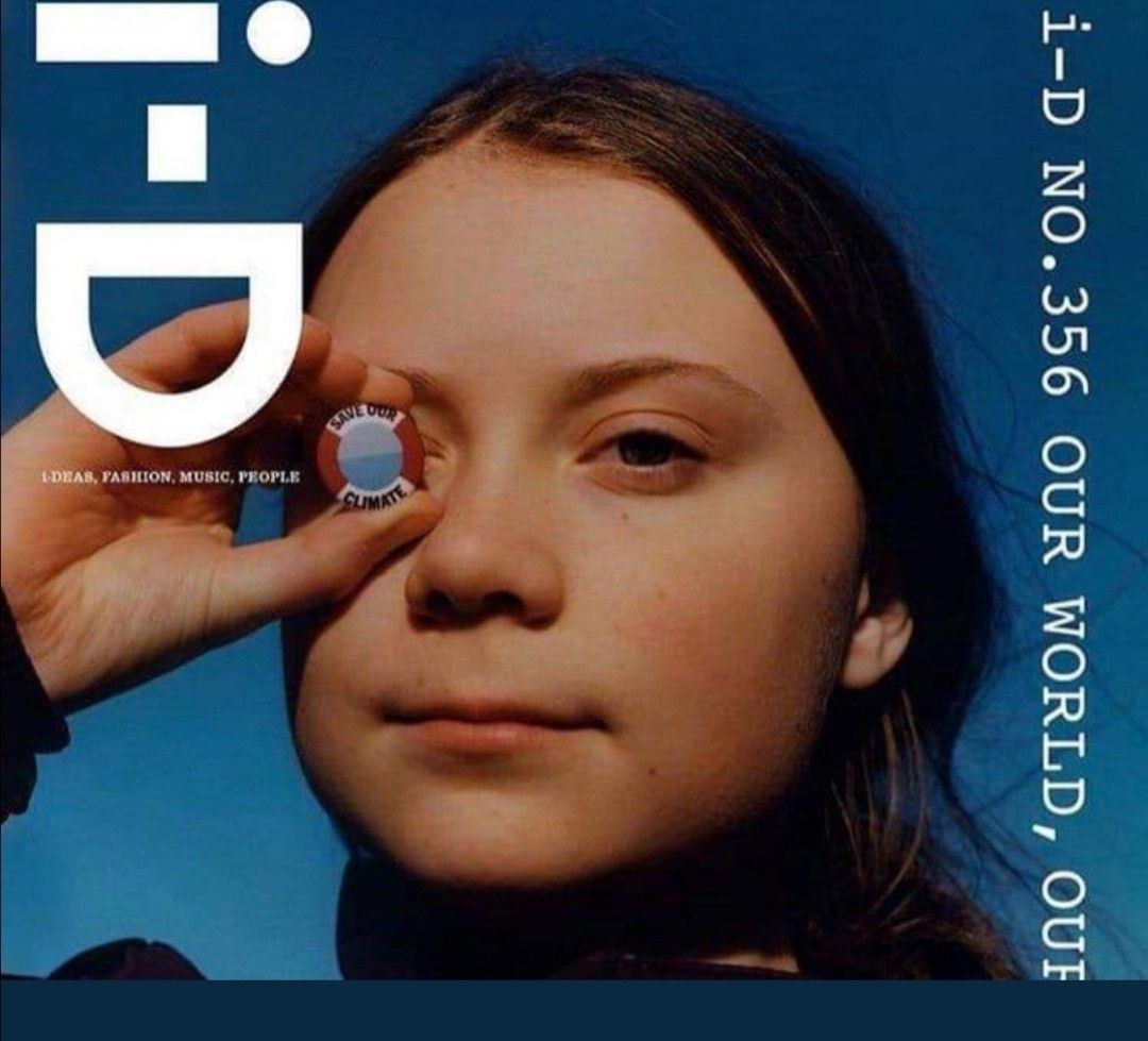 Greta Thunberg - One eye symbolism. Owned by elite (With images ...