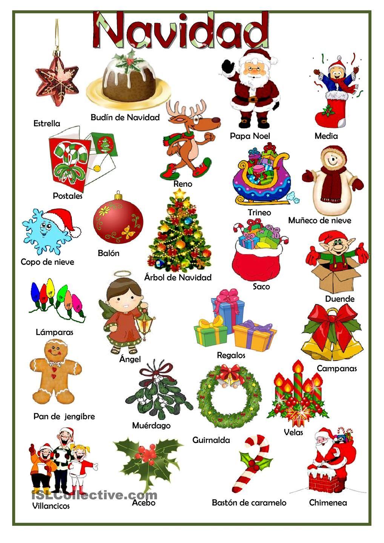 Navidad trabajos hojas de trabajo de ele gratuitas - Trabajos manuales de navidad para ninos de primaria ...