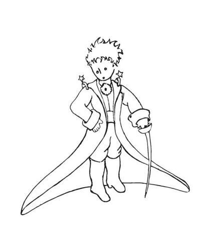 O Pequeno Principe Para Colorir Desenho Pequeno Principe Coisas