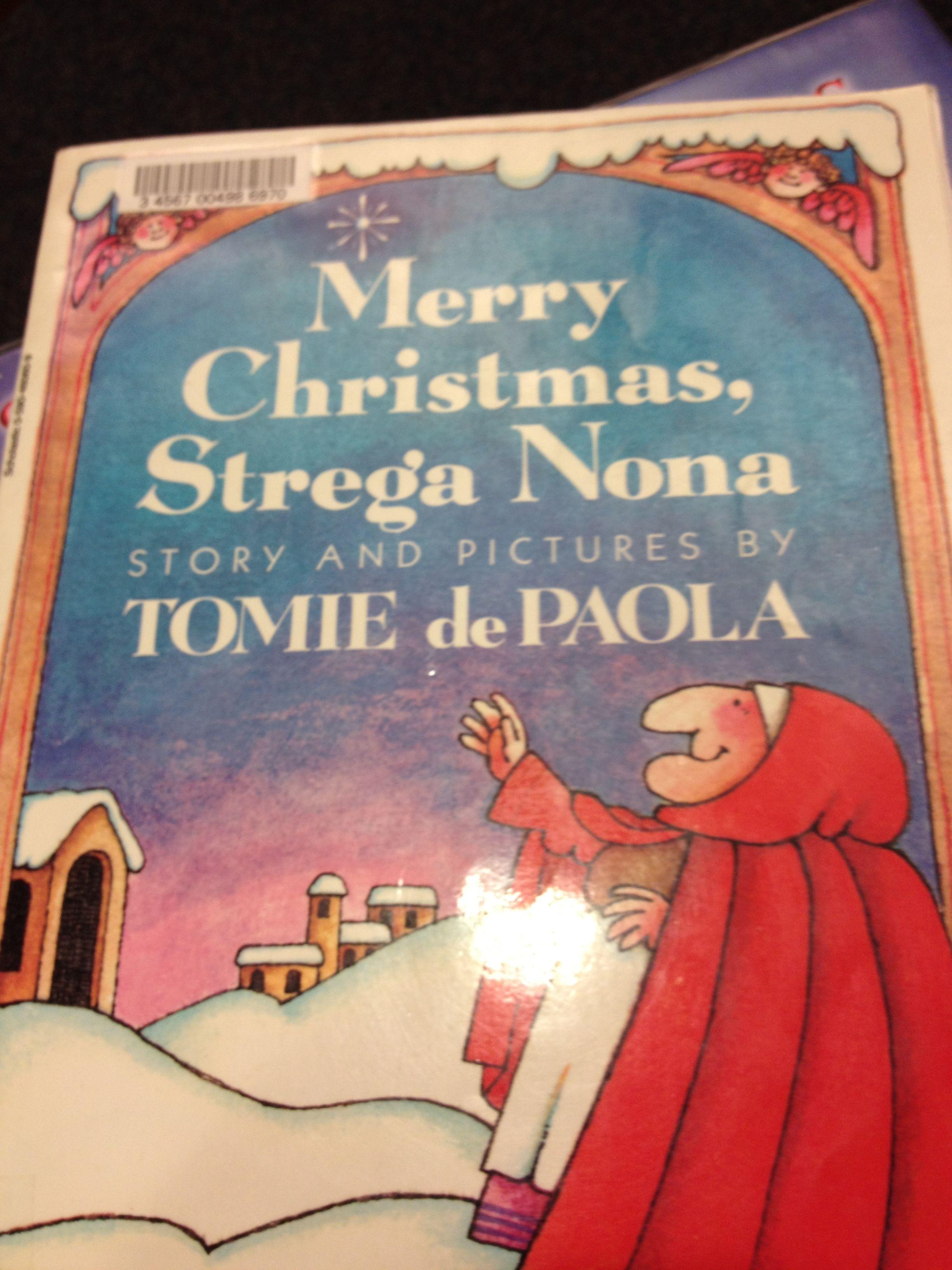 Merry Christmas Strega Nona