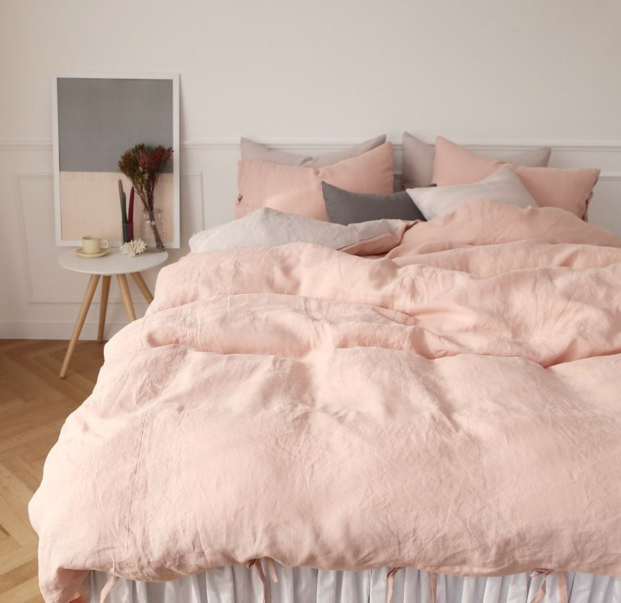 In Search Of The Perfect Blush Pink Bedding Set Pink Bedding Set
