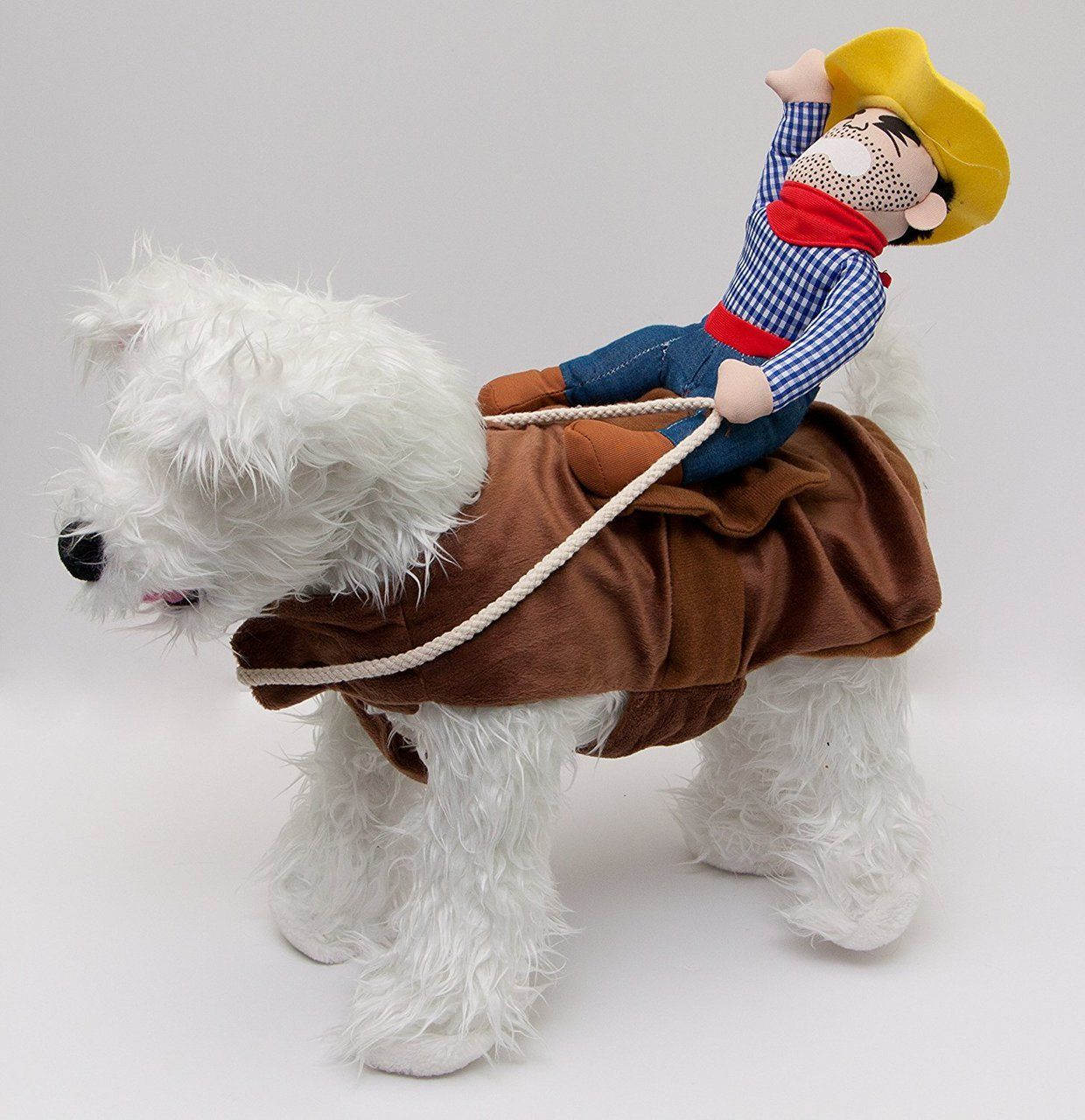 Bucking Bronco Cowboy Dog Costume By Midlee Cowboy Dog Costume