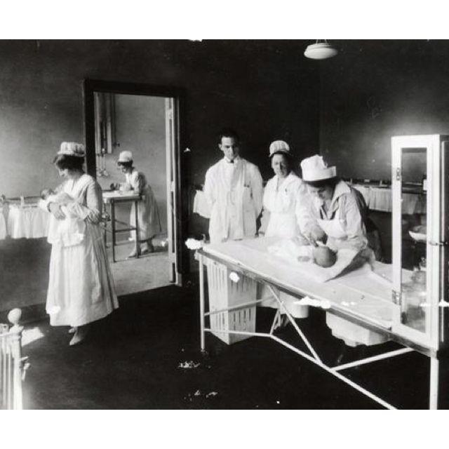 Old Time Hospital Nursery