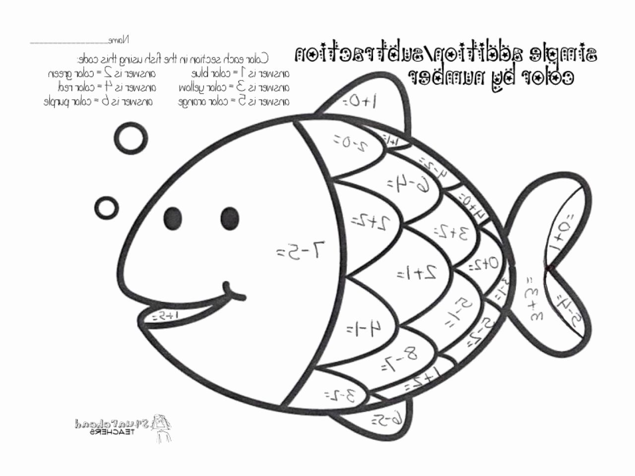 Coloring Math Activities For Preschoolers Best Of Addition