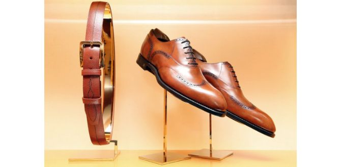 Matcha skärpet med skorna En uråldrig grundregel