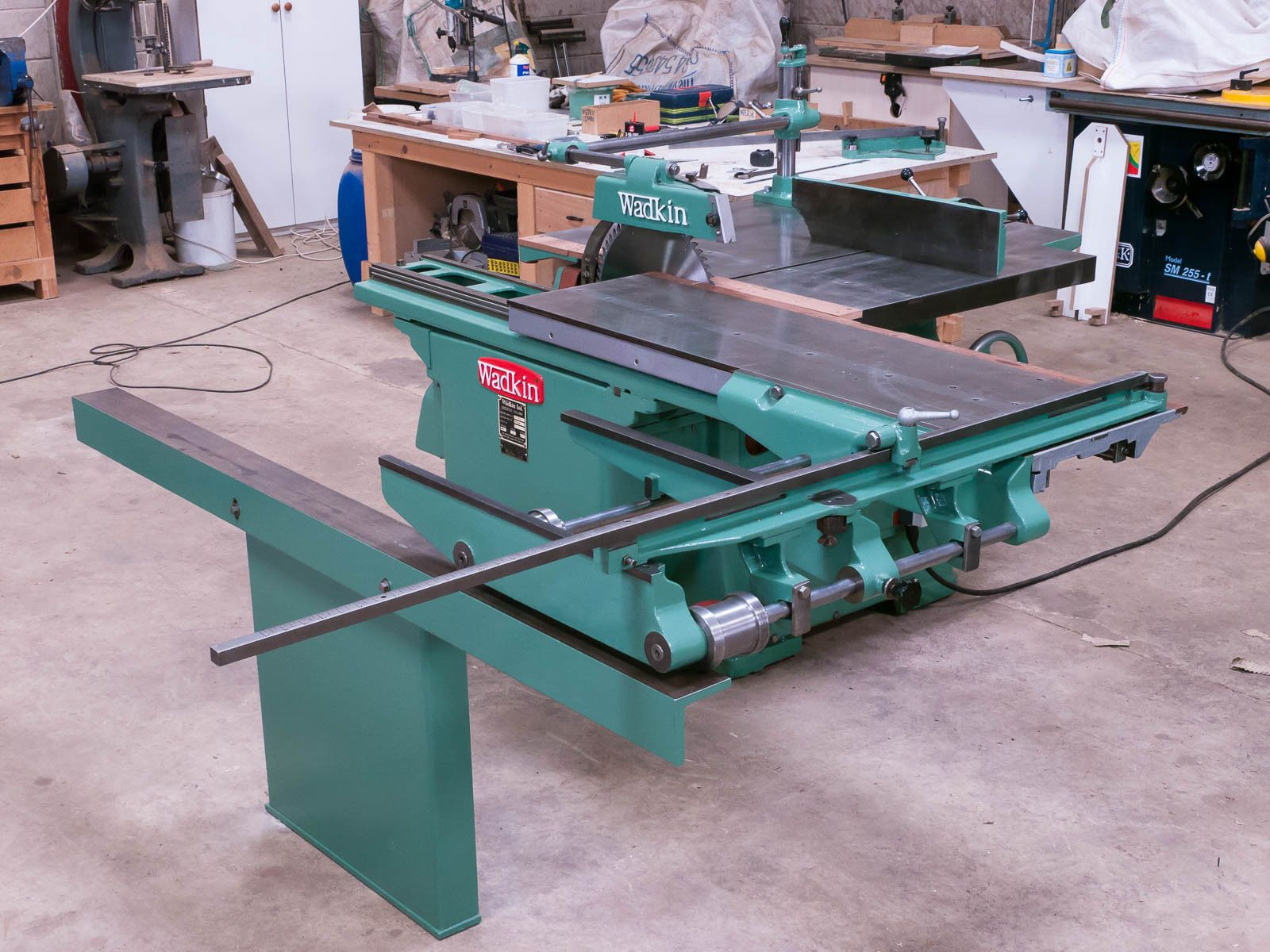 Wadkin Pp 450 18 Panel Dimension Rip Saw Bench 3 Phase In Business Office Industrial