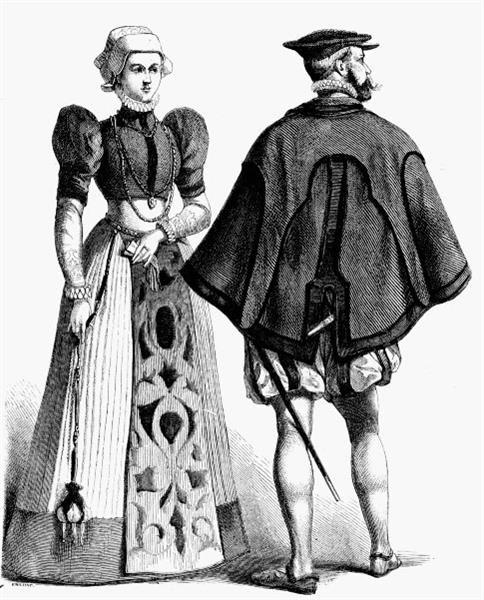 Реферат по истории костюма мода век Одежда для всех  Реферат по истории костюма мода 16век