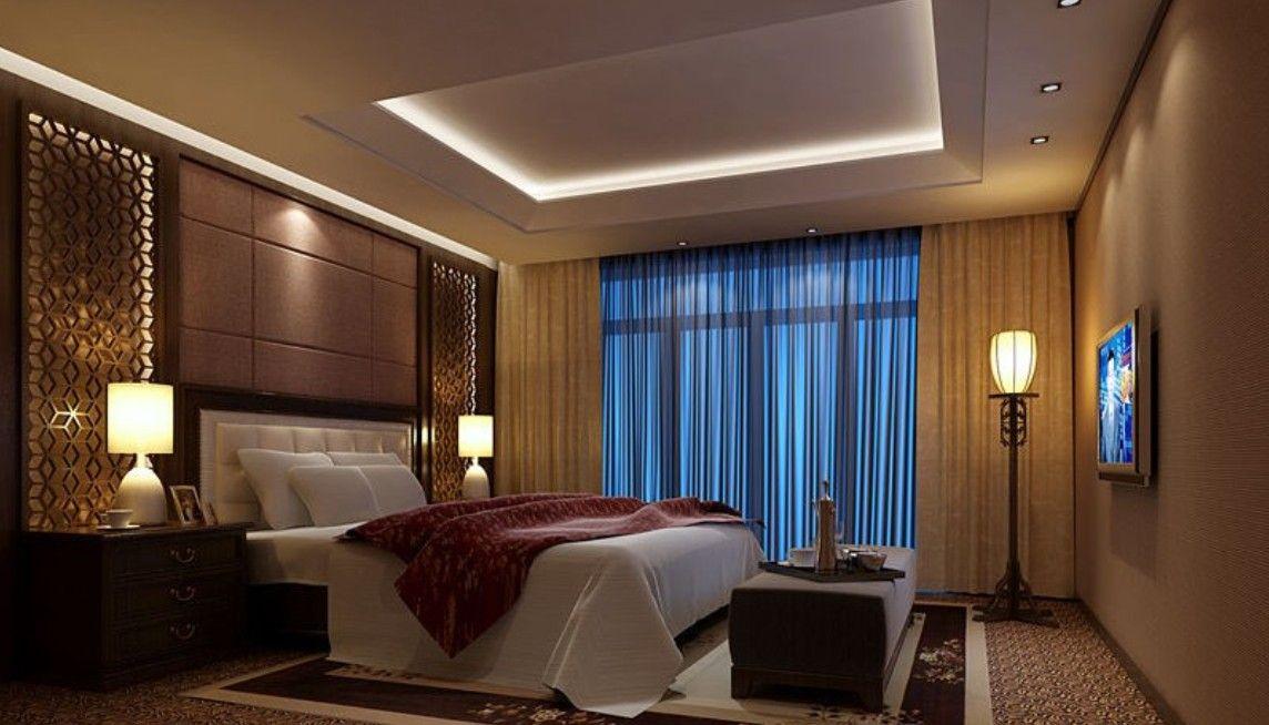 Designer Bedroom Lighting Interior Design Curtains  Httpwwwbesthomespupularwebsite