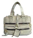 Chloe Betty Handbag Grey White