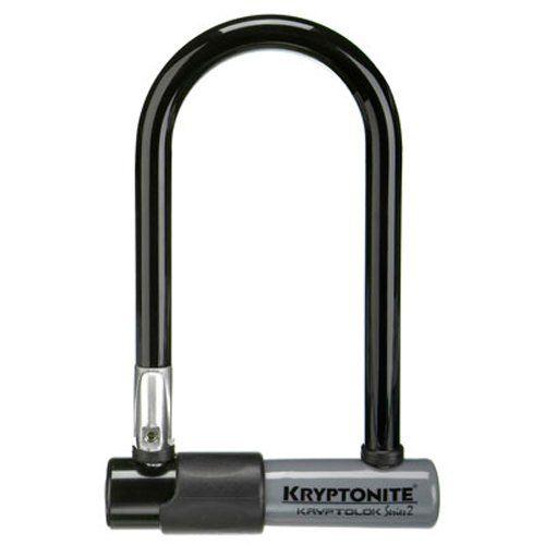Kryptonite Kryptolok Series 2 Mini Bicycle U Lock With Transit