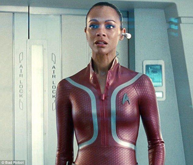 Zoe Saldana Hot Zoe Saldana Star Trek Star Trek Zoe Saldana
