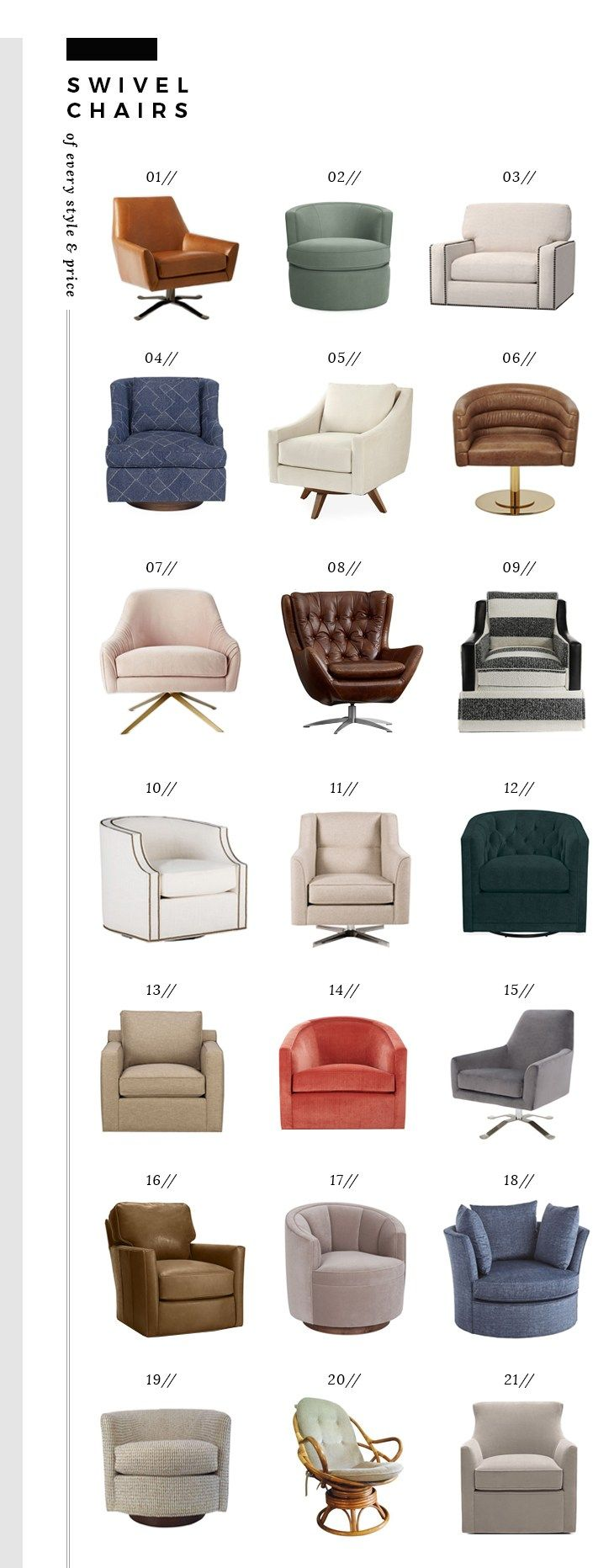 Comfortable Swivel Chairs Of Every Style And Price Room For Tuesday Swivel Chair Living Room Comfortable Accent Chairs Modern Swivel Chair