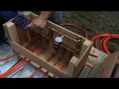 Radiant Heating In A Concrete Slab Let Us Show You How Easy It Can Be To Install Radiant Heat Youtube Radiant Heat Radiant Floor Heating Diy Concrete Slab