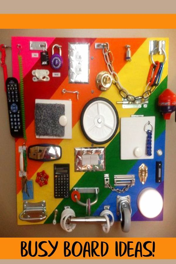 57+ Sensory Board Ideas for Toddlers - Easy DIY Activity ...