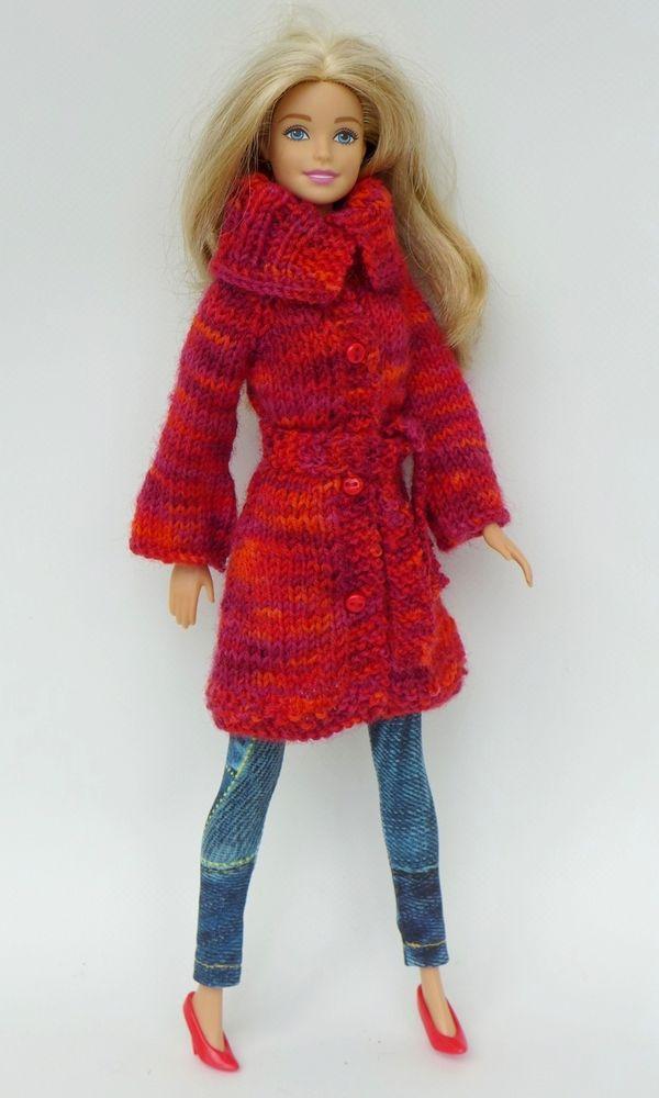 Strickanleitung: Strickjacke und Mütze für kleine Puppen | Barbie ...