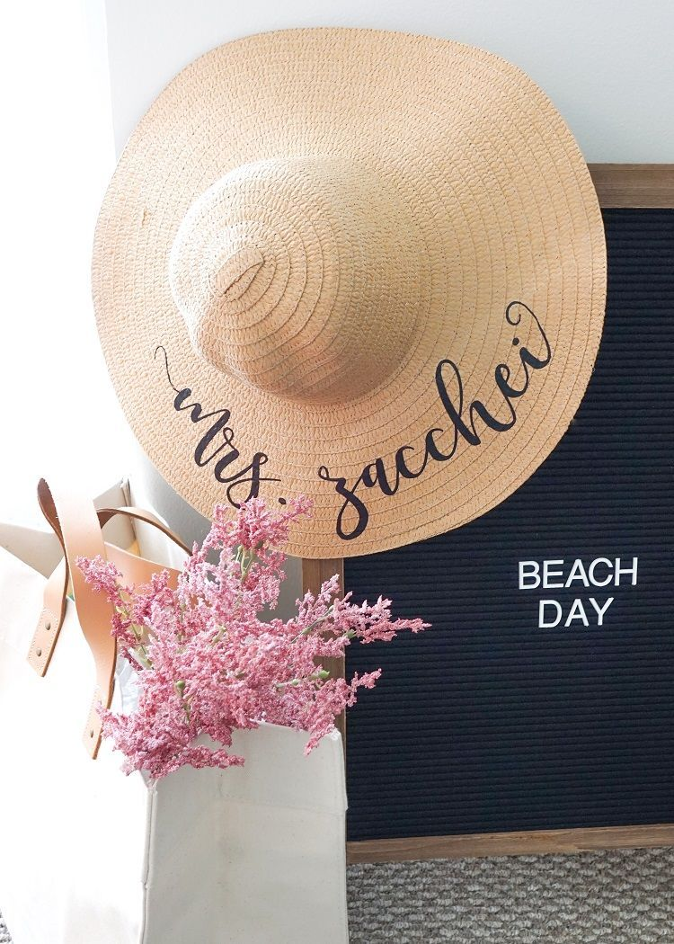 1c079f1e31d67 The perfect Honeymoon hat! Our Mrs sun hat is the perfect new last name idea