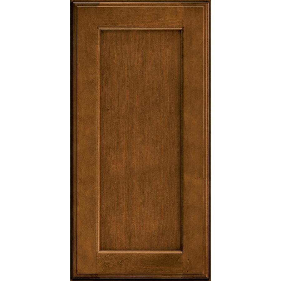 Kraftmaid 15 In W X 15 In H Cognac Maple Kitchen Cabinet Sample Lowes Com In 2021 Kraftmaid Maple Kitchen Cabinet Kitchen Cabinet Samples 15 inch wide cabinet