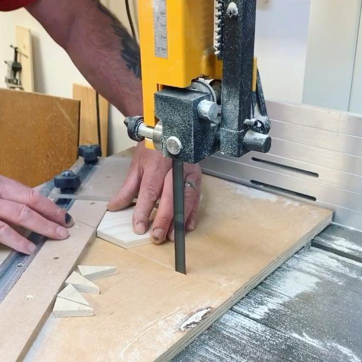 Hexagon woodworking jig