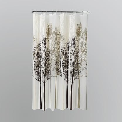 kmart com tree shower curtains