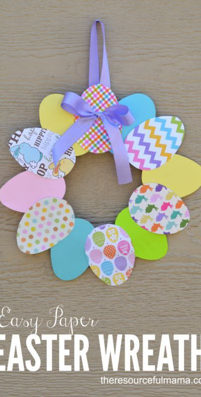 Superior Easy Easter Craft Ideas For Kids Part - 11: 25 Easy Easter Crafts For Preschoolers