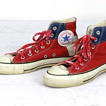 15873a21a6 Vintage Chuck Taylor Converse High Top Shoes