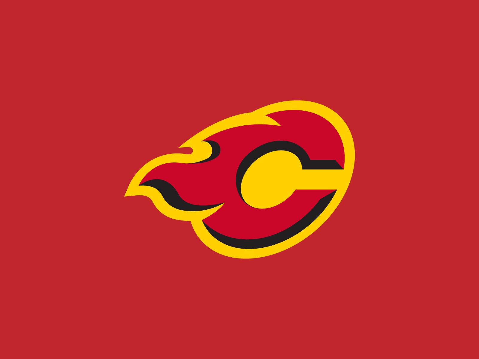 Calgary Flames Logo Concept Logo Concept Calgary Flames Logos