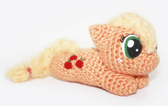 Amigurumi crochet pattern for a My Little Pony | MLP | Pinterest ...