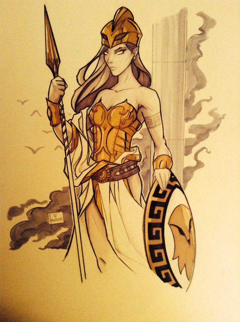 Athena Goddess Of Wisdom And Battle Athena Goddess