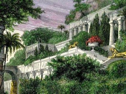 Gradinile Suspendate Ale Semiramidei Gardens Of Babylon Hanging Garden Wonders Of The World