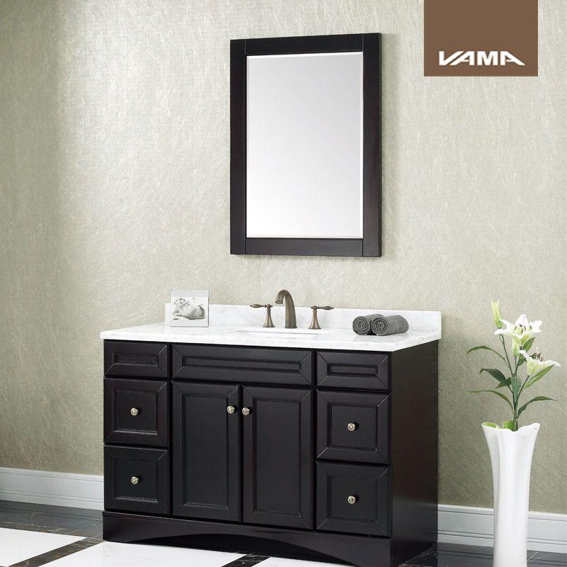 Vama American Style Modern Bathroom Vanity Cabinet 350 500