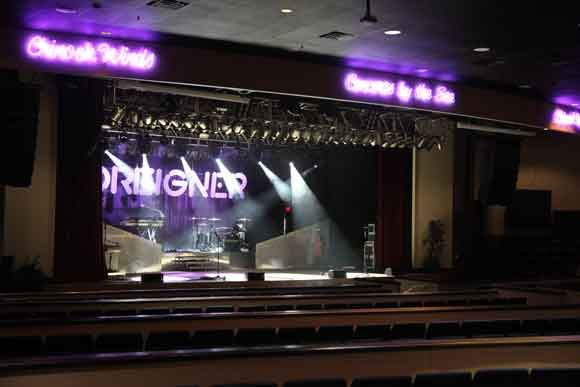 Concert Showroom Chinook Winds Casino Lincoln City