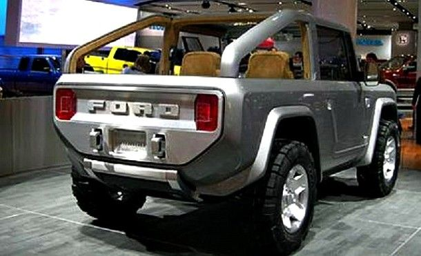 2016 Ford Bronco Exterior CONCEPT