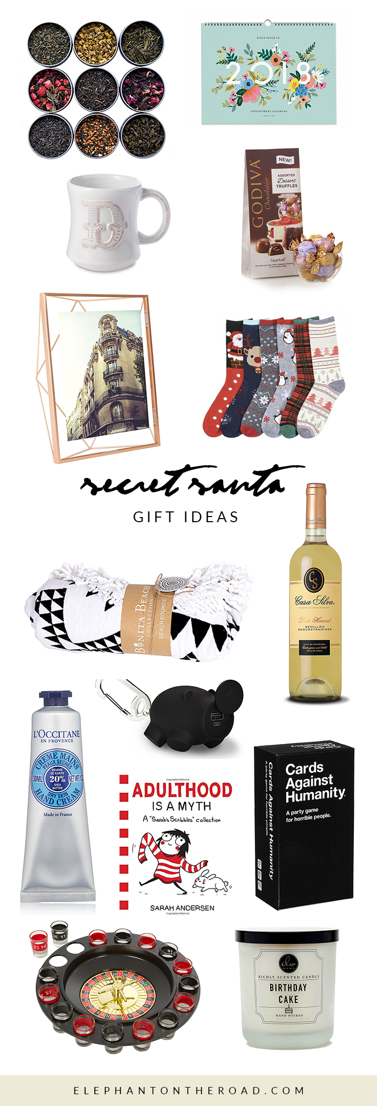 Secret Santa Gift Ideas For People You Don't Know Well – Elephant On The Road