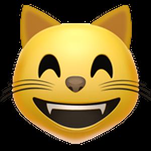 Les Émoticônes au format png, grand format Cat emoji