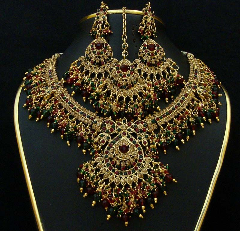 bridal jewellery necklaces indian wedding jewelry wholesale supply