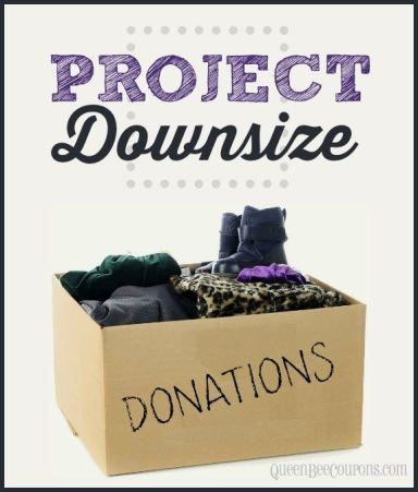 Project Downsize. Now that you've sold everything you can, what do you do with the leftovers? Where do you give? Which is the best organization? Tips here!