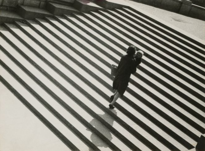 Alexander Rodchenko. Stairs. 1930. Collection of the Moscow House of Photography Museum. © A. Rodtschenko – V. Stepanova Archive.  © Moscow ...
