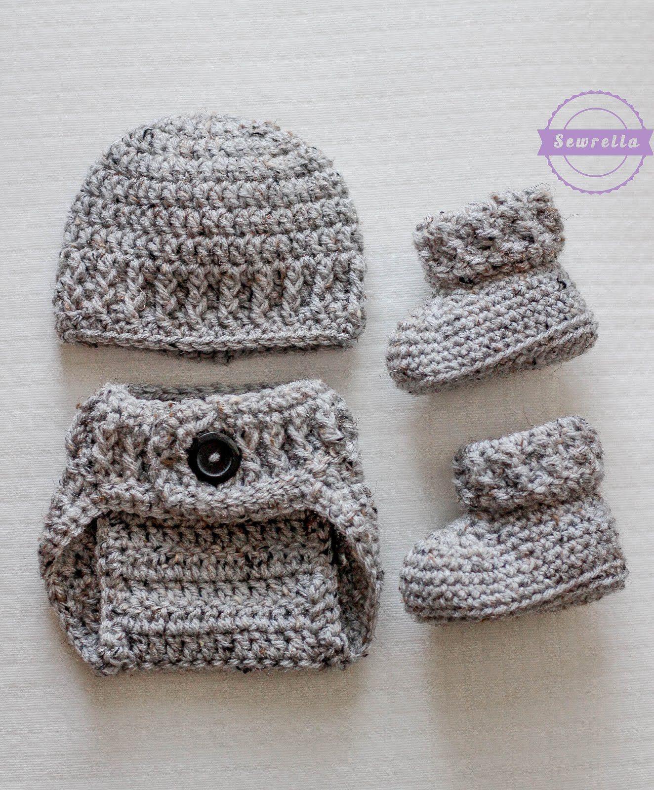 The Parker Crochet Diaper Cover | Bebé, Para bebés y Ganchillo