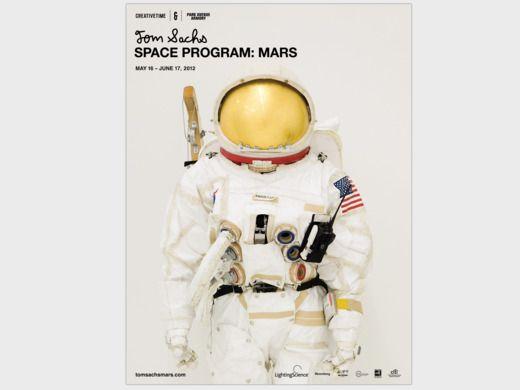 tom sachs space program poster $10