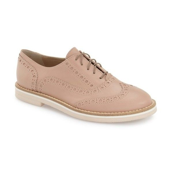 cheap marketable AGL Brogue Leather Oxfords reliable cheap price cheap browse buy cheap big sale vbrqunb