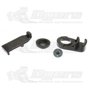 Dometic Complete Black Door Lock Assembly | BOLER | Black