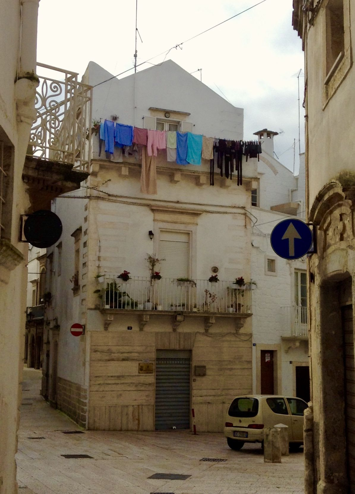 All In A Day S Laundry Old Town Martina Franca Italy Artist