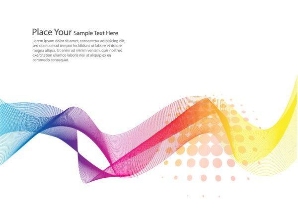 Brilliant dynamic flow line business card background vector brilliant dynamic flow line business card background vector reheart Image collections