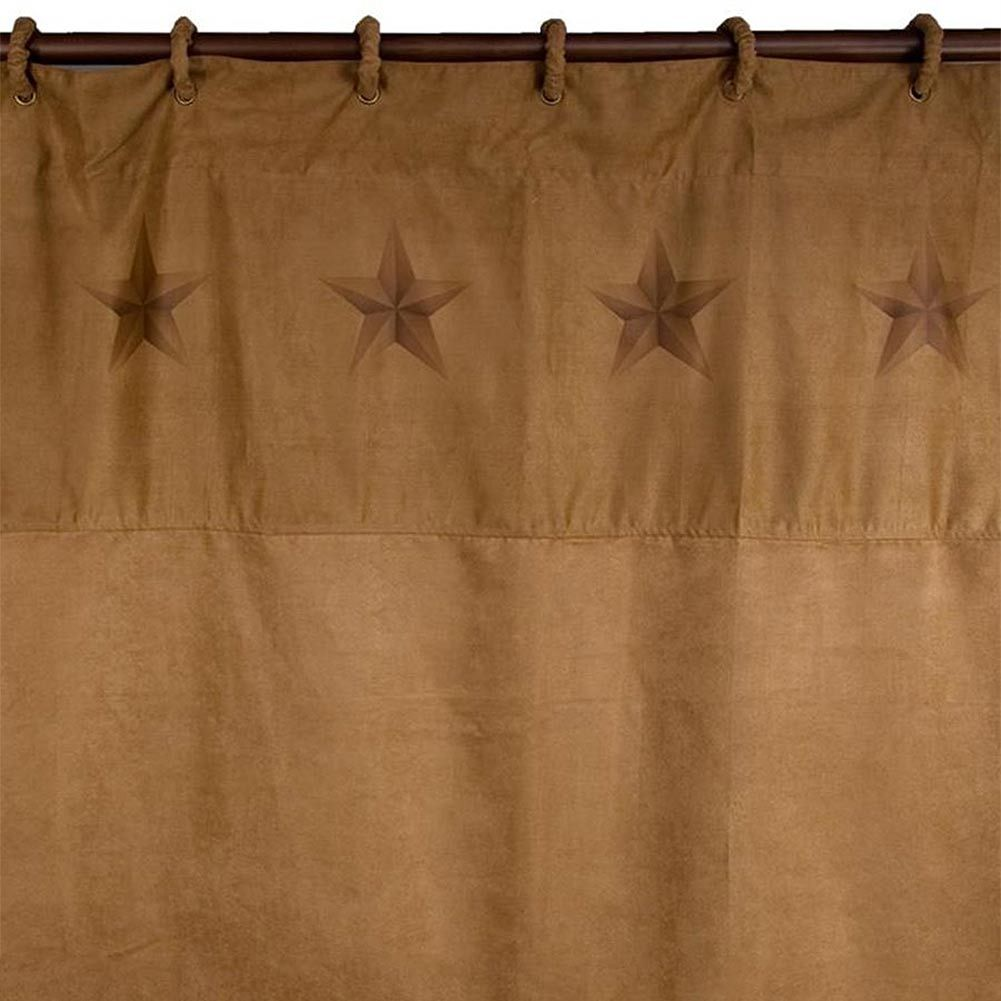 Luxury Star Shower Curtain With Coordinating Rings Luxury Shower Curtain Curtains Rustic Bathroom Accessories