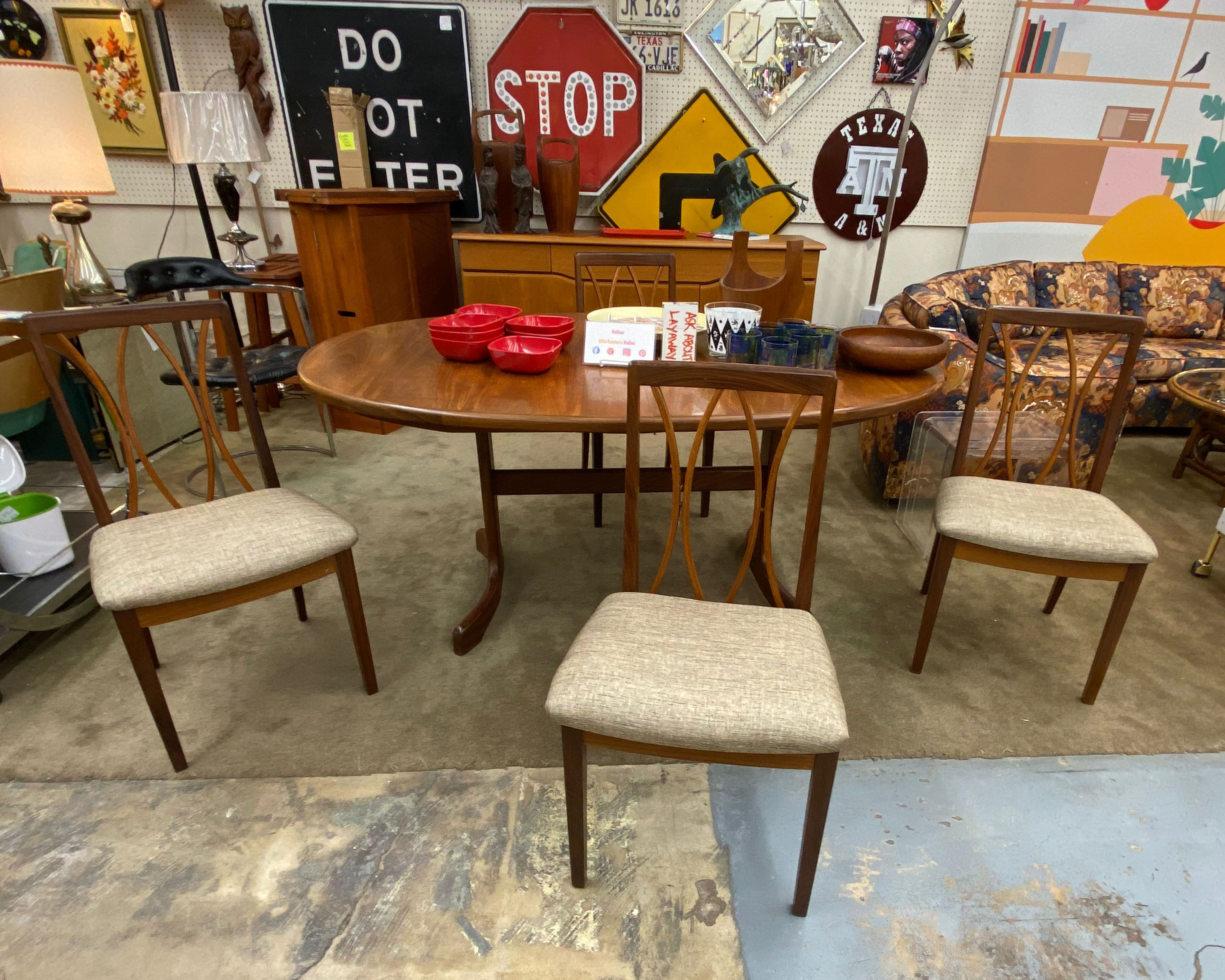 Teak Tall Back Mid Century Chairs With New Upholstery Mid Century Dining Chairs Mid Century Furniture Danish Furniture