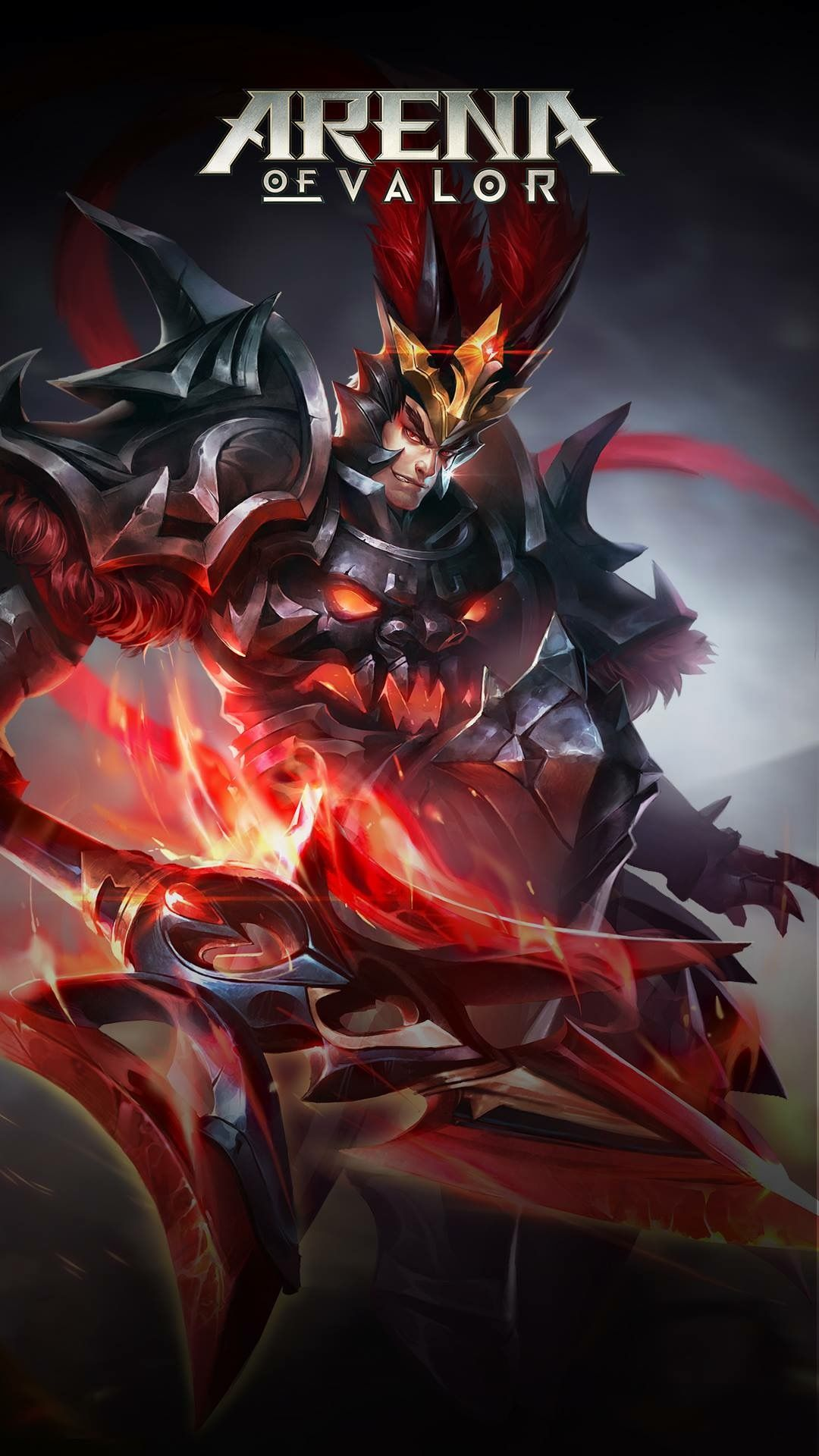Lu Bu The Legend Of Heroes Mobile Legends Pvp Wallpaper Art Kuroko